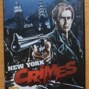 New York Crimes Precintado Español FX Juego Pc ordenador