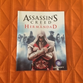 Assassins Creed La Hermandad - Manual de instrucciones playstation 3 ps3