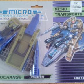 TRANSFORMERS ROUGHSTUFF Vintage G1 Micromaster Transport 1989 variante color raro