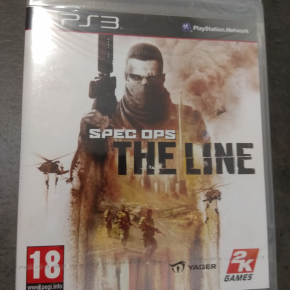 Spec Ops The Line PAL ESP PS3 Nuevo