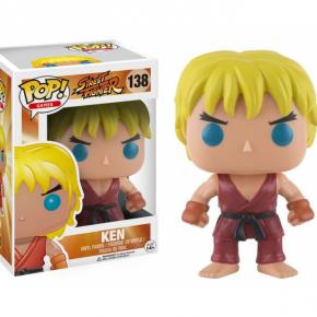 Street Fighter POP! Games Vinyl Figura Ken
