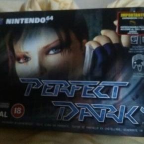 Perfeck Dark nintendo 64 caja cartón instrucciones completo