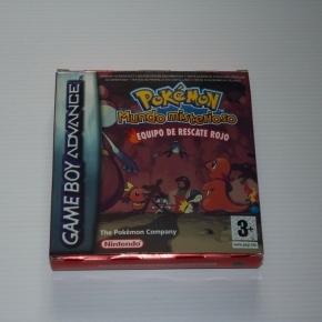Pokemon mundo misterioso equipo de rescate rojo Pal esp