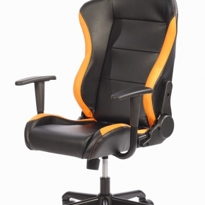 Silla Gaming 1337 Industries GC727 - Negra Naranja