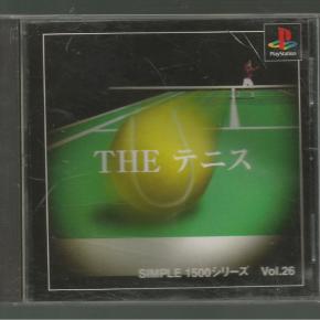 Simple 1500 Series Vol.26: The Tennis (JAP)*