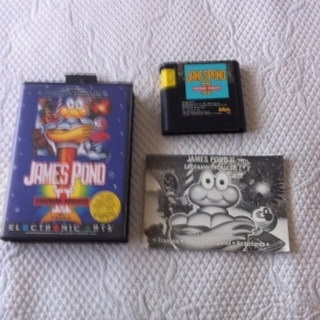 JUEGO MEGADRIVE JAMES POND 2 CODENAME: ROBOCOD