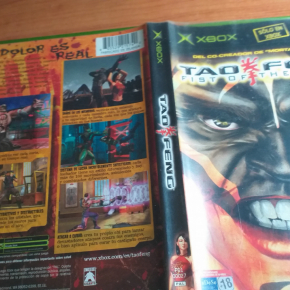 TAO FENG FIST OF THE LOTUS - MICROSOFT XBOX PAL COMPLETO