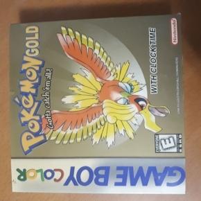 Pokemon gold game boy