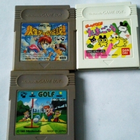GAMEBOY LOTE TAMAGOTCHI, GOLF Y JINSEI