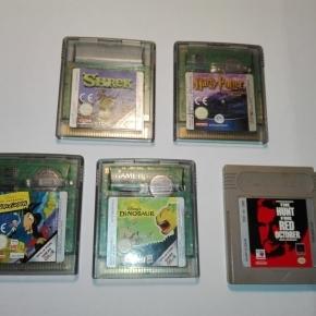 Juegos de gameboy color y uno de gameboy original