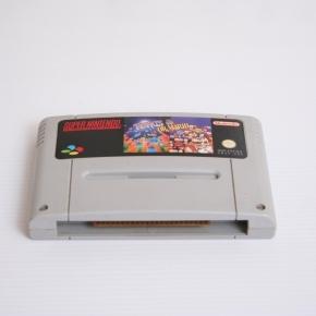 Tetris & Dr Mario SNES Pal Esp