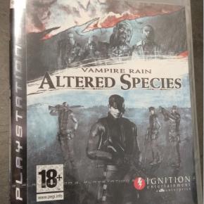 Vampire Rain Altered Species PAL ESP PS3 Nuevo