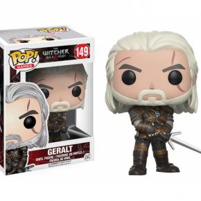 The Witcher Figura POP! Games Vinyl Geralt
