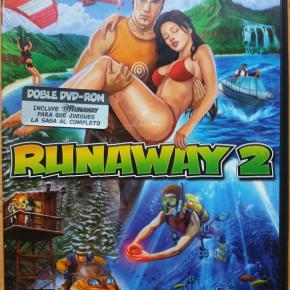 Juego ordenador Pc Runaway 2 y Runaway, Nuevo Español incluye los 2 juegos