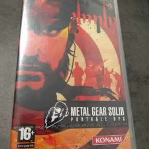 Metal Gear Solid Portable Ops MGS PAL ESP Nuevo
