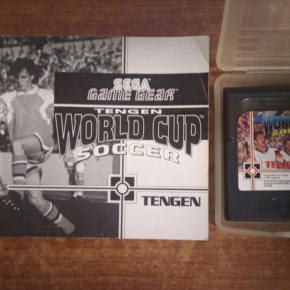 Juego Game Gear,World cup soccer.