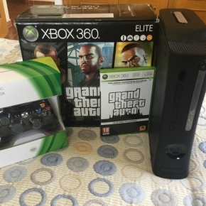 Pack Xbox 360 Elite 120GB + Mando + Juego