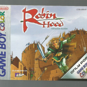Manual Robin Hood de GB Color!