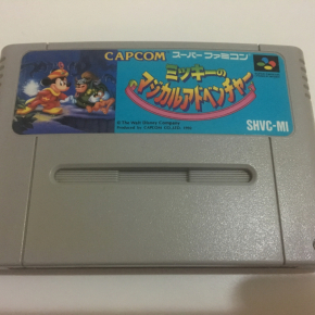 JUEGO MICKEY MOUSE MAGICAL QUEST SUPER FAMICOM JAPONESA SUPERNES