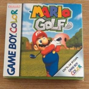 Mario Golf GBC Pal Esp (Completo)
