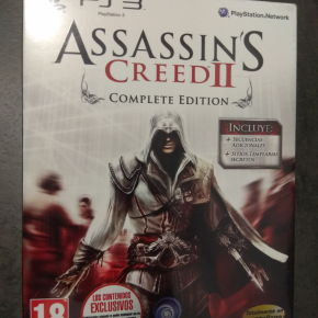 Assassin's Creed II Complete Edition PAL ESP PS3 Nuevo