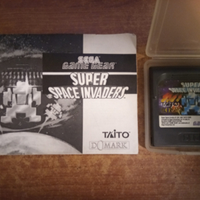 Juego Game Gear,Super Space invaders