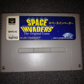 JUEGO SPACE INVADERS SUPER FAMICOM JAPONESA SUPERNES