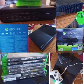 XBOX ONE 500GB + 2 MANDOS+ JUEGOS