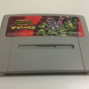 JUEGO TURTLES MUTANT WARRIORS SUPER FAMICOM JAPONESA SUPERNES