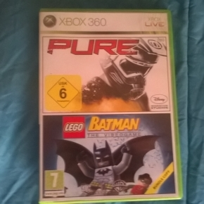 PURE + LEGO BATMAN THE VIDEOGAME (XBOX 360 - Retrocompatibel Xbox One)