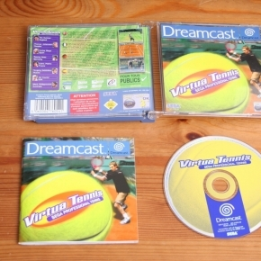 Virtua Tennis Dreamcast Esp
