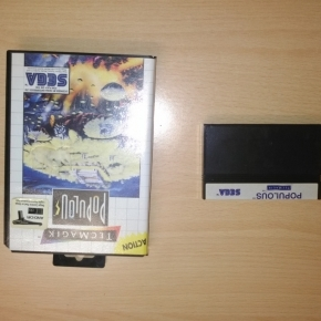POPULOUS Sega Master System