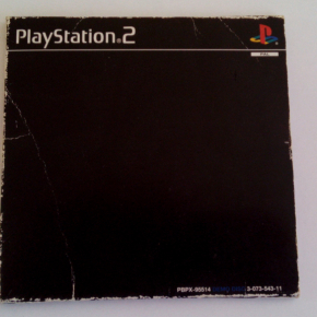 PS2 PLAYSTATION 2 DEMO OFFICIAL 1 PAL