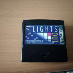 LIGHTS OUT TIGER GAME.COM GAME DOT COM GAME PUNTO COM