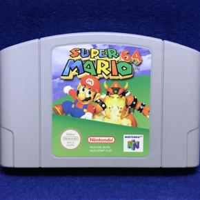 Super Mario 64 (solo cartucho) N64 PAL Europa