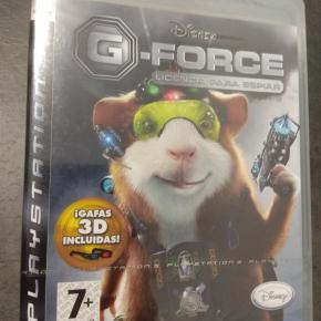 G-Force Licencia para espiar PAL ESP PS3 Nuevo