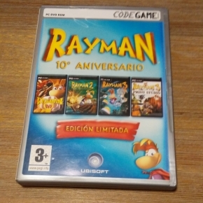 Rayman 10º Aniversario Pc esp