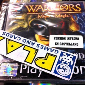 WARRIORS OF MIGHT AND MAGIC PSX PLAYSTATION PAL ESP NEW