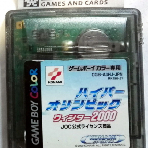 Hyper Olympic 2000 MIllenium Winter Sports JAPAN GAME BOY COLOR GAMEBOY GBC