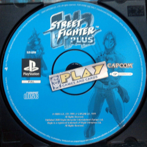 STREET FIGHTER EX2 PLUS SOLO DISCO PAL SONY PLAYSTATION 1 PSX PS1 PSONE ENVIO24H