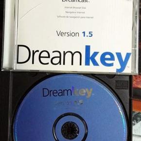 DREAM KEY VERSION 1.5 INTERNET BROWSER DISK DREAMCAST PAL ENVIO CERTIFICADO/24H
