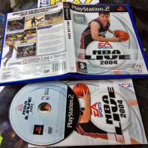 NBA LIVE 2004 PAL ESPAÑA MUY BUEN ESTADO PS2 PLAYSTATION 2 ENVIO CERTIFICADO/24H
