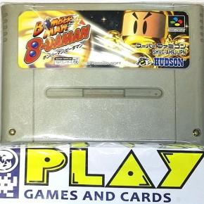 BOMBERMAN B-DAMAN BOMBER MAN NTSC JAPAN IMPORT SNES SUPER FAMICOM NES NINTENDO