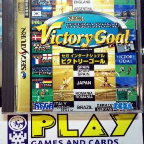 SEGA INTERNATIONAL VICTORY GOAL NTSC JAPAN IMPORT SATURN ENVIO CERTIFICADO/ 24H