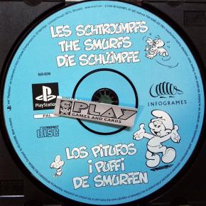 LOS PITUFOS SOLO DISCO PAL ESPAÑA THE SMURFS PLAYSTATION PSX PS1 PSONE ENVIO24H