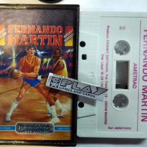 FERNANDO MARTIN BASKET MASTER CINTA TAPE PAL ESPAÑA AMSTRAD DINAMIC ENVIO 24H