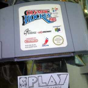 OLYMPIC HOCKEY 98 NAGANO PAL NINTENDO 64 N64 CARTUCHO CARTRIDGE EN BUEN ESTADO