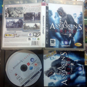 ASSASSIN'S CREED ASSASSIN'S PAL ESPAÑA BUEN ESTADO PS3 PLAYSTATION 3 ENVIO 24H