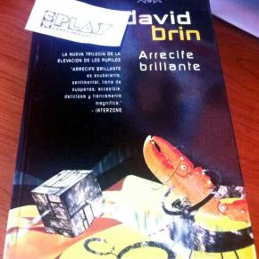 BOOK LIBRO ARRECIFE BRILLANTE DAVID BRIN LA ELEVACION DE LOS PUPILOS NUEVO NEW