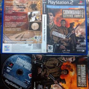 COMMANDOS STRIKE FORCE PAL ESPAÑA COMPLETO PS2 PLAYSTATION 2 ENVIO CERTIFICADO